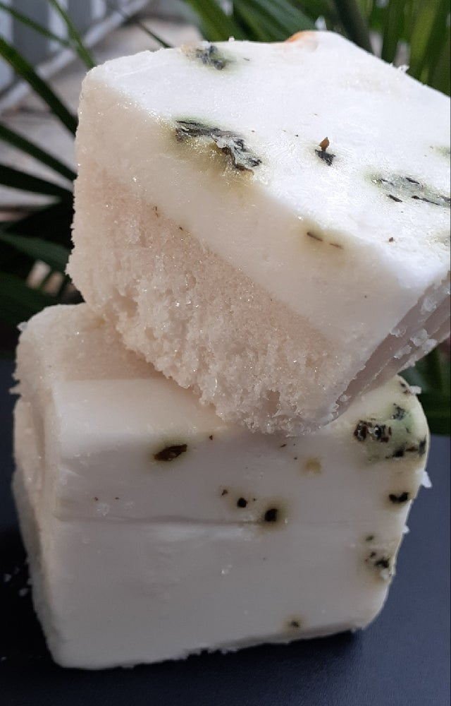 Image of Peppermint Eucalyptus Lavendar Scrub Bar