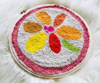 Image of Summer Flower Embroidery