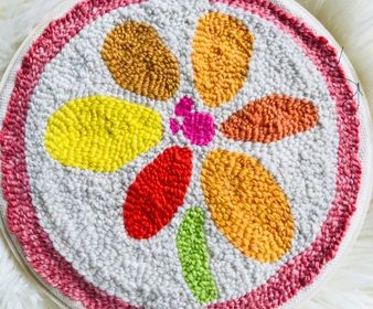 Summer Flower Embroidery