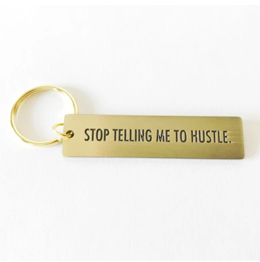 Image of Witty Brass Keychains (sold separately)