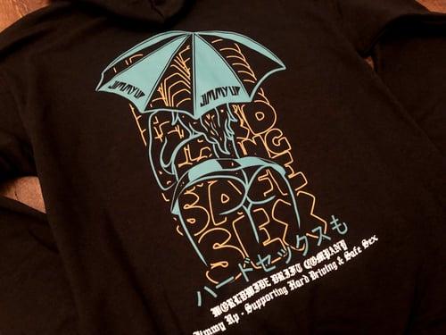 Image of Umbrella Girl Worldwide ZIP UP