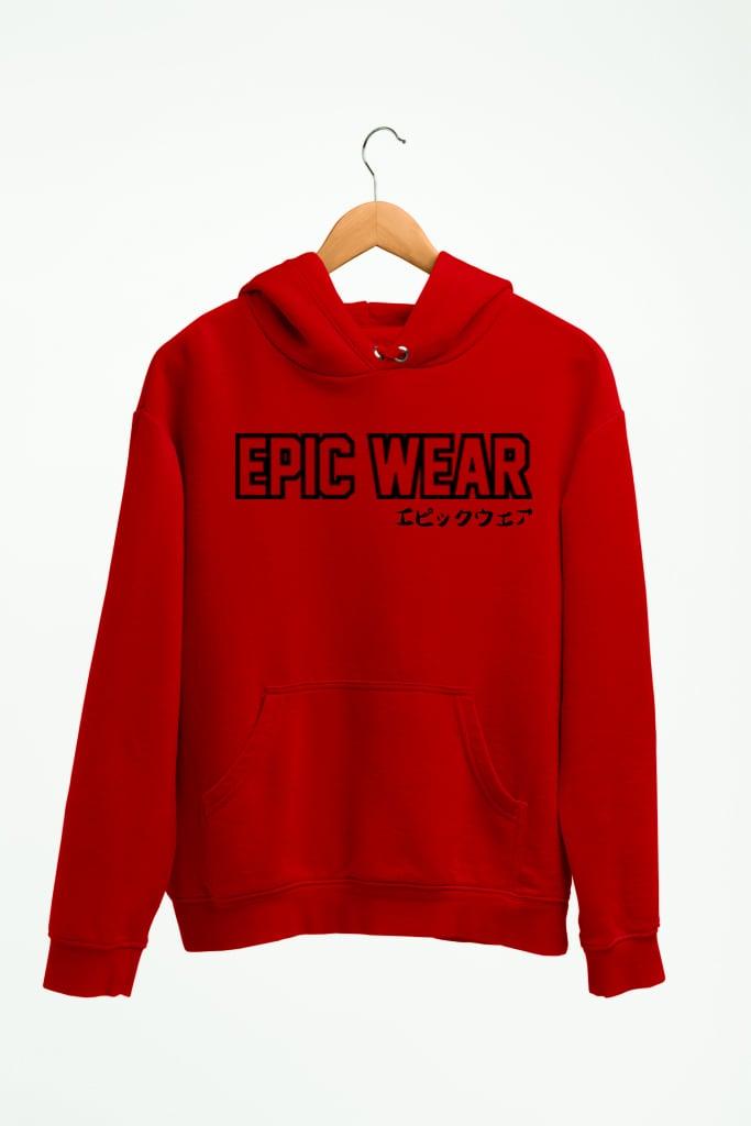 Epic Daruma Red Hoodie