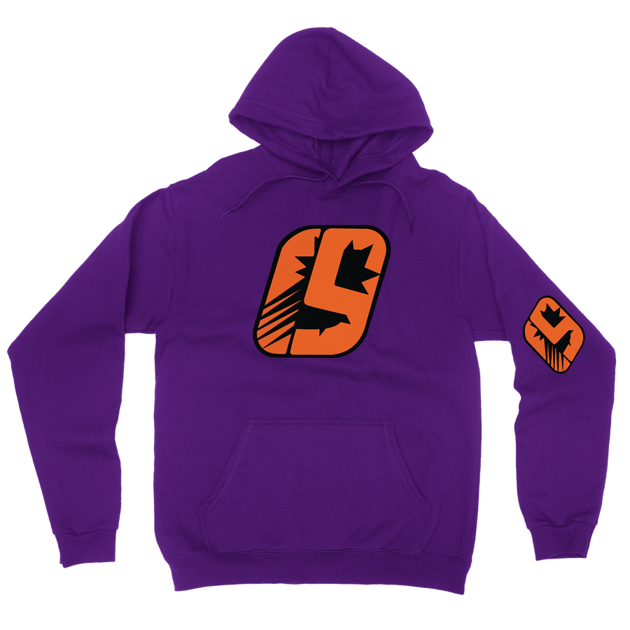 Image of All Star Hoodie (Purple)
