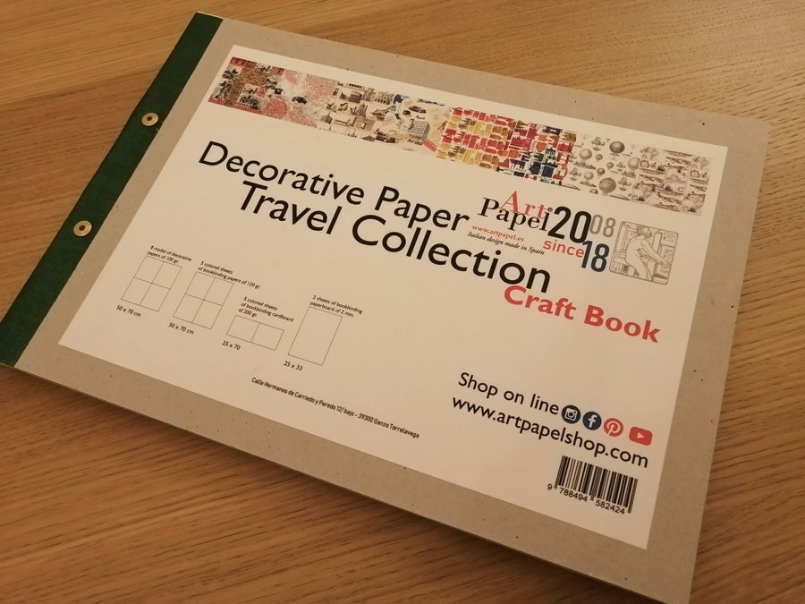 Image of Decorative Paper - Craft Book Travel Collection