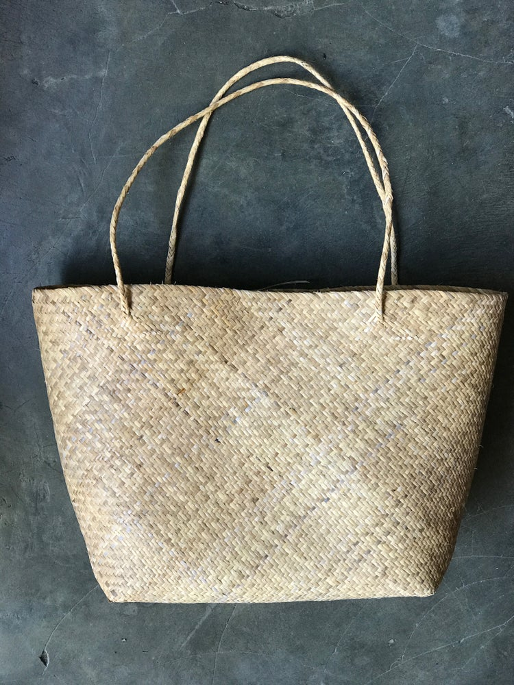 Image of BEACHTIPI BAG | RATTAN TOTE