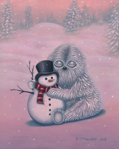 Image of Baby Yeti    (abominable snowman)
