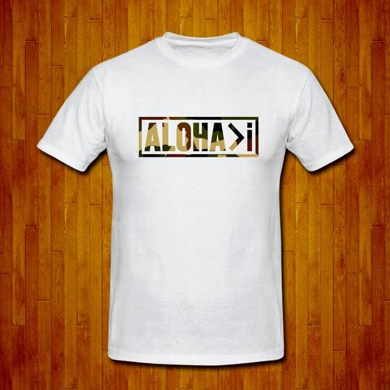 Image of ALOHA>I Camo White