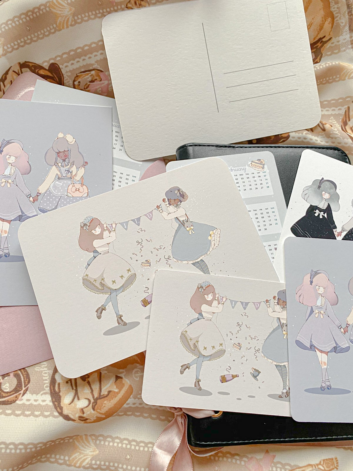 Image of International Lolita Day ILD - Postcard Set