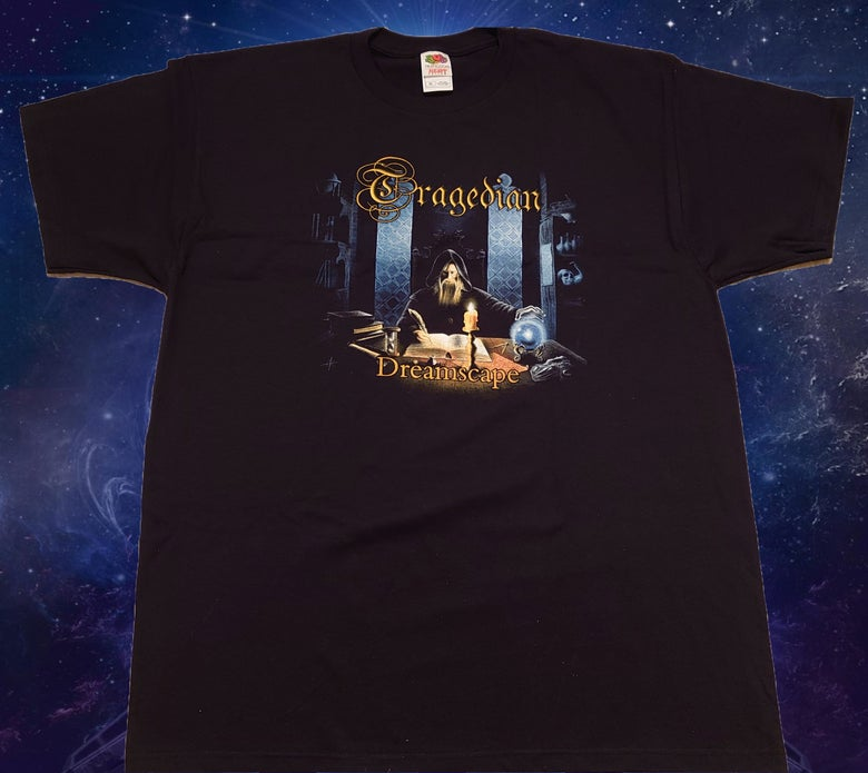 Image of The Dreamscape album cover t-shirt.