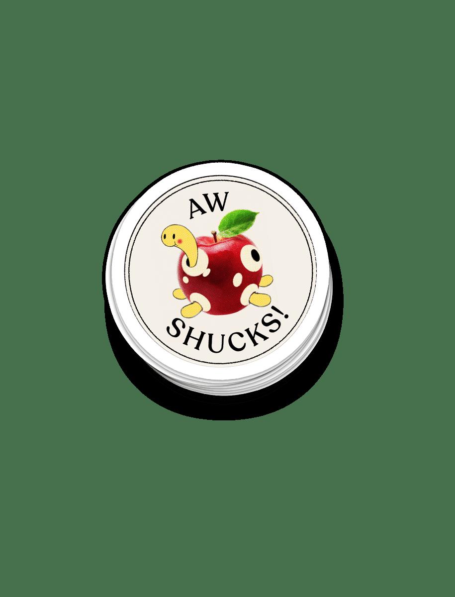 Shuckle Sticker