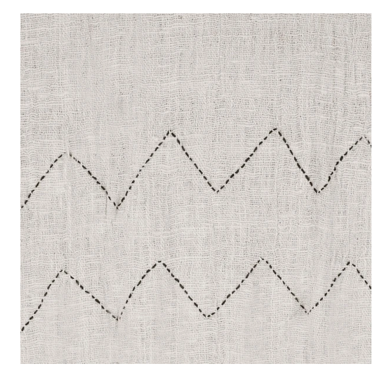 Image of COTTON THROW NOMAD NATURAL