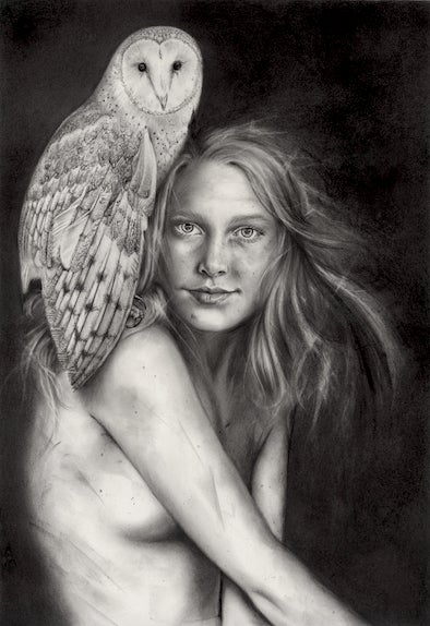 Image of The Cailleach as a Girl