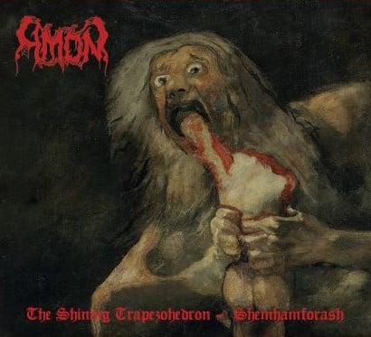 AMON -The Shining Trapezohedron / Shemhamforash- DIGI-CD