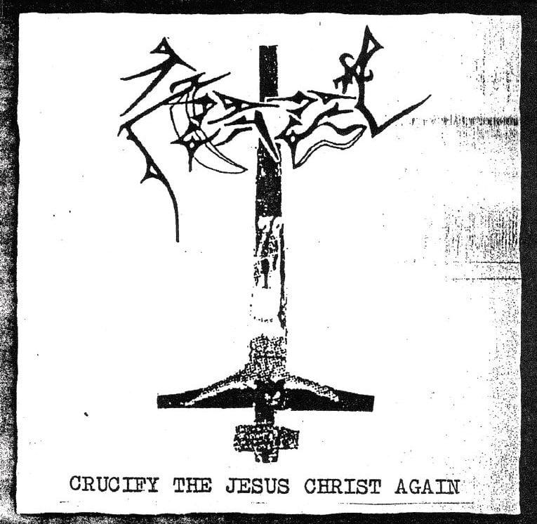 AZAZEL -Crucify The Jesus Christ Again- CD