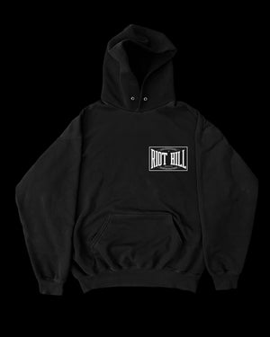 Image of BARE KNUCKLE BOXING LOGO HOODED SWEATSHIRT