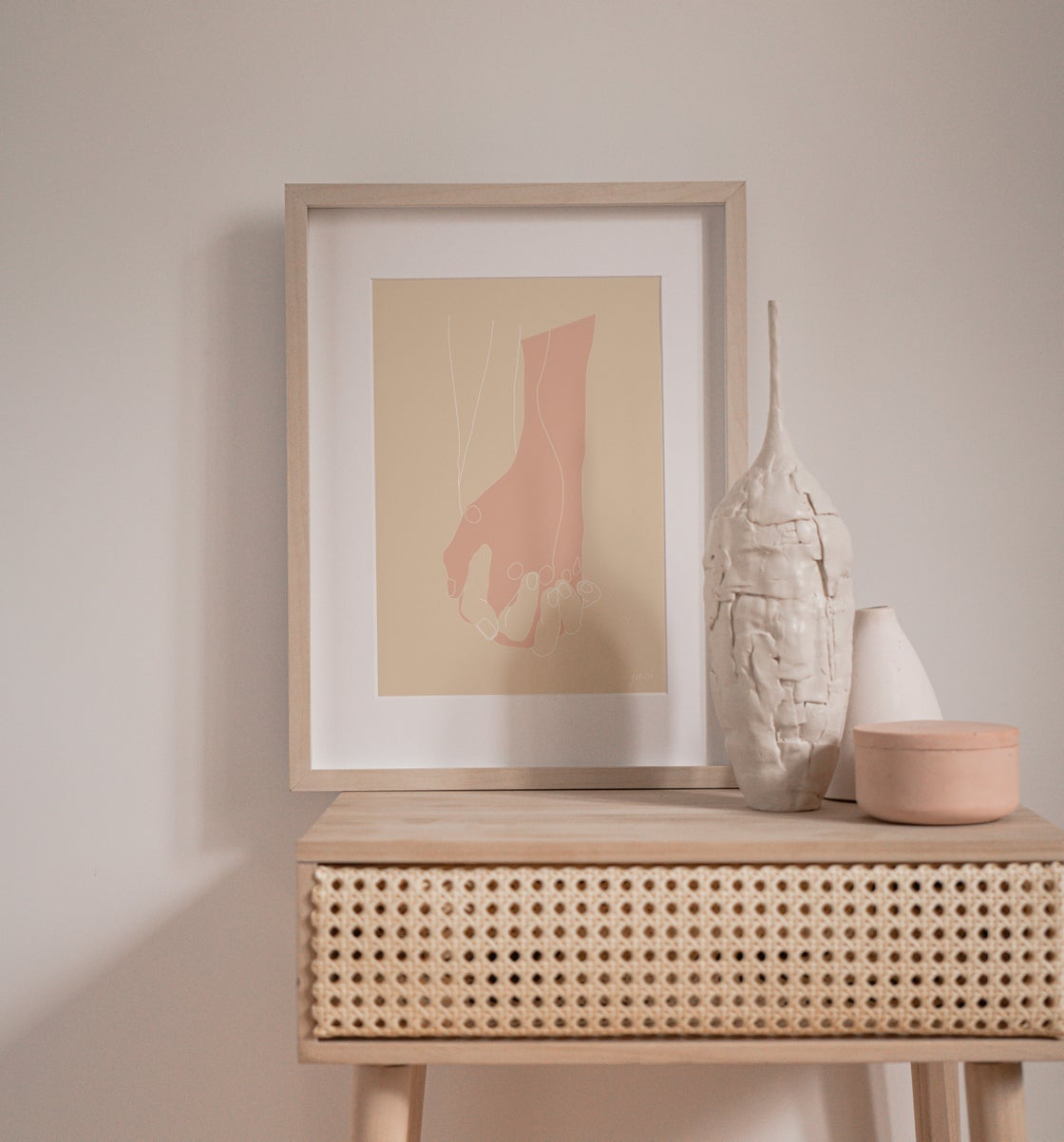 Image of 'HERE AND NOW' PRINT