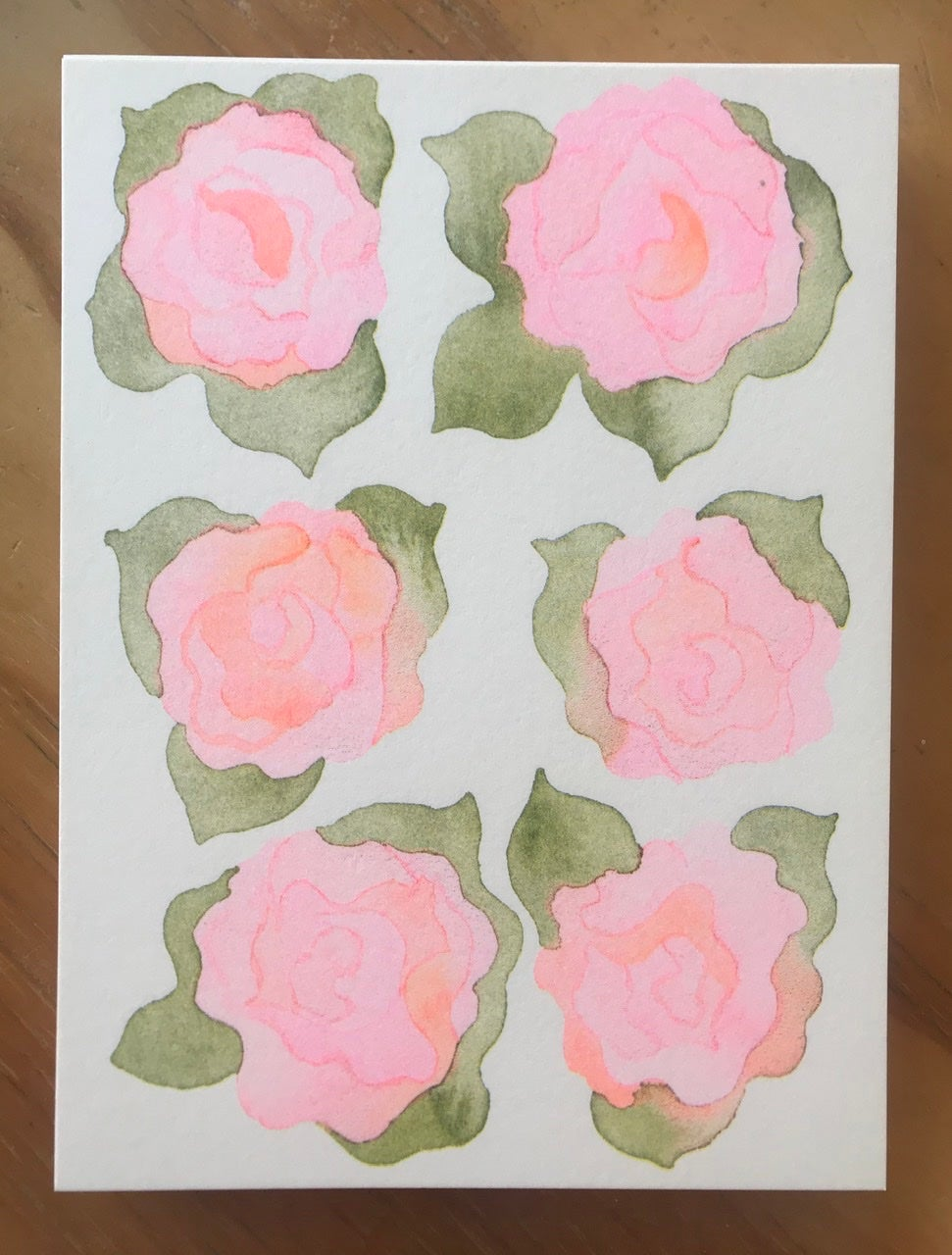 Image of RISO Rose print