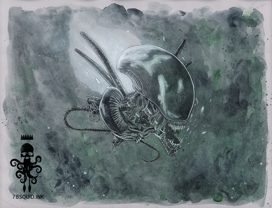 Image of ALIEN XENOMORPH 01