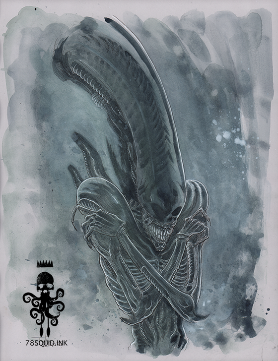 Image of ALIEN XENOMORPH 02