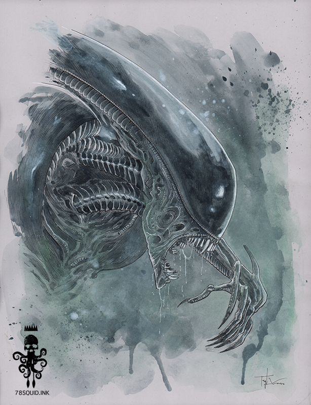 Image of ALIEN XENOMORPH 04