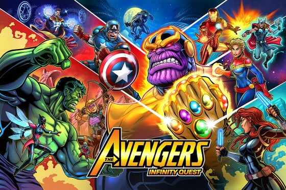 Image of Avengers: Infinity Quest Signed Pinball (PRO/PREM) Translites