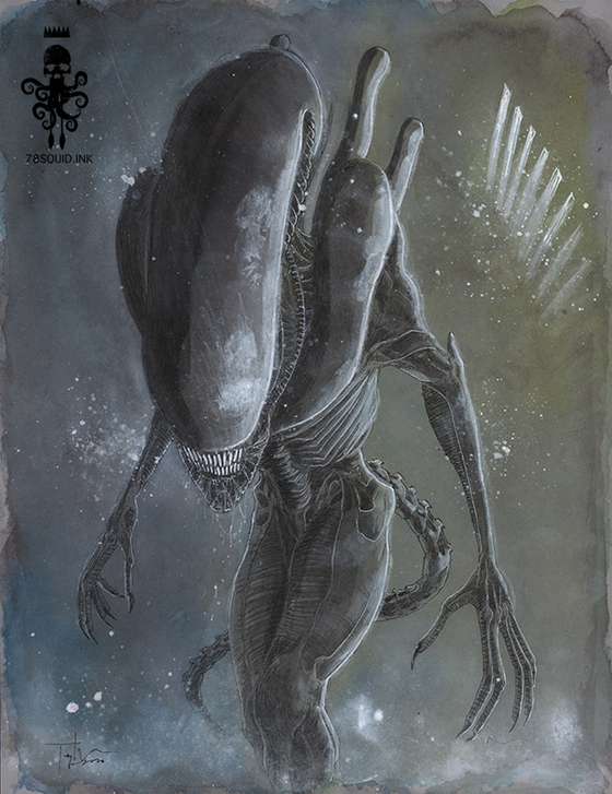 Image of ALIEN XENOMORPH 07