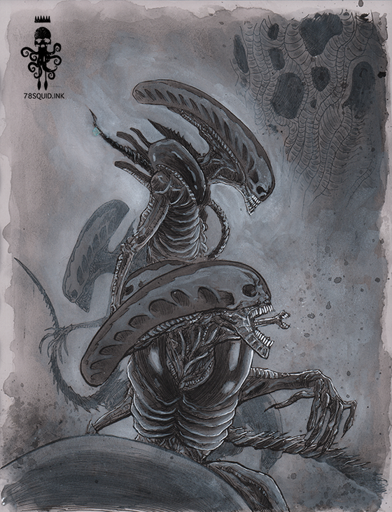 Image of ALIEN XENOMORPH 08