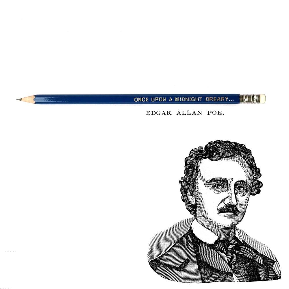 Edgar Allan Poe Pencil