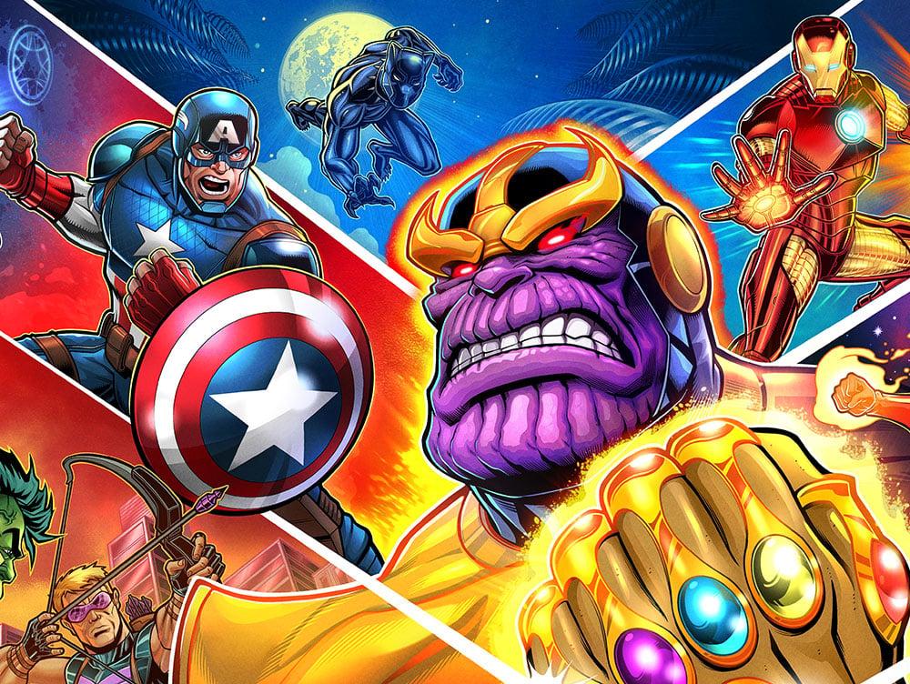 Image of Avengers: Infinity Quest Signed Pinball (PRO/PREM) Translites
