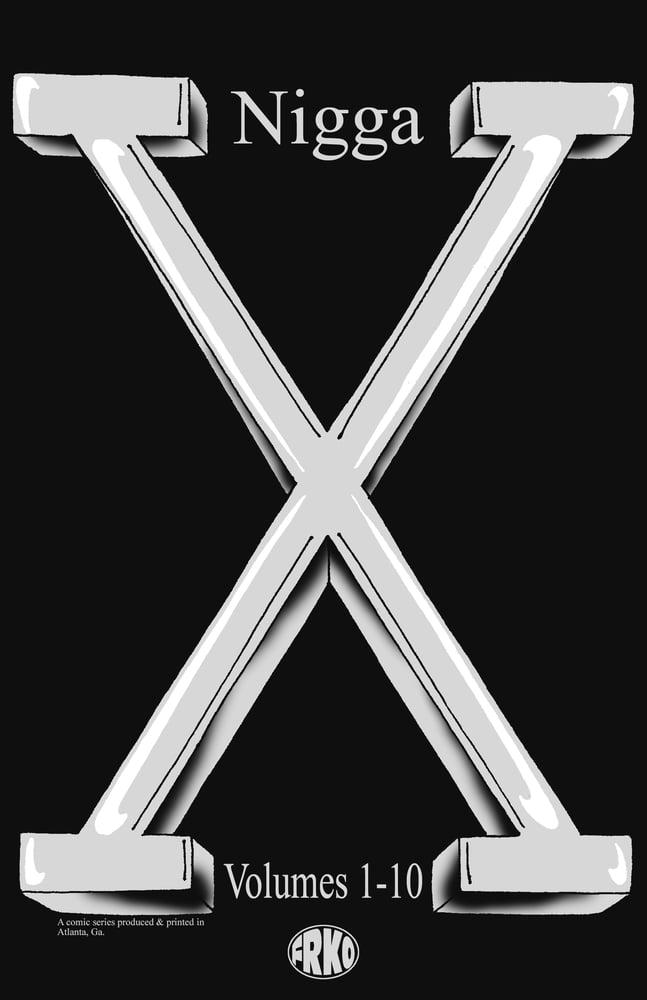 Image of NIGGA-X BUNDLE (VOLUMES 1-10)