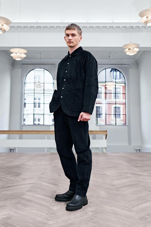 Image of Maja Brix & Aarstiderne - FULL SET UNISEX - Black Cotton