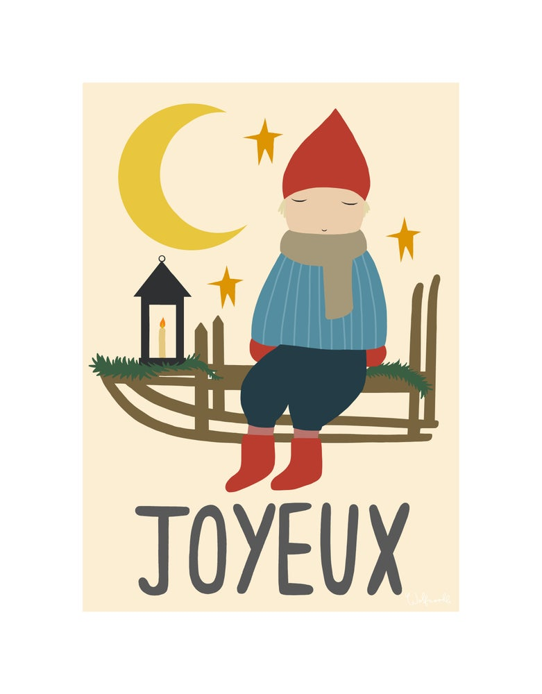 Image of JOYEUX (MOCHA SCARF)