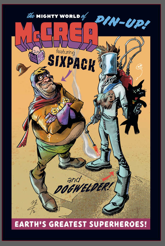 Image of Sixpack and Dogwelder print!