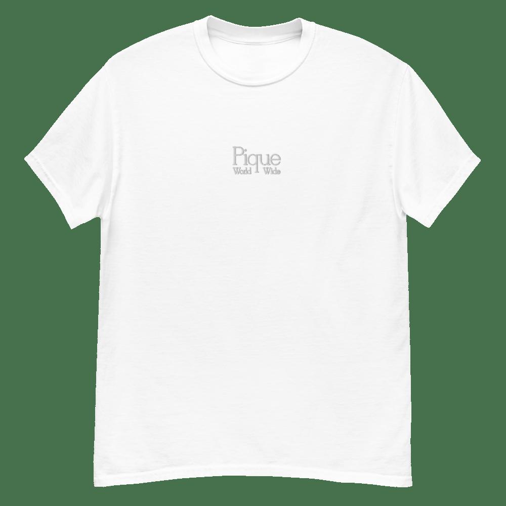 Pique Worldwide Stitched Logo