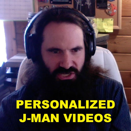 Image of PERSONALIZED J-MAN VIDEOS