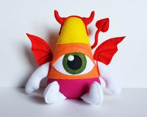 Devilish Candycorn Art Doll