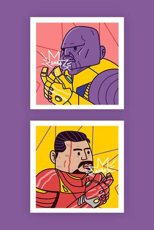 Duo Series - The Avengers (Set 1)