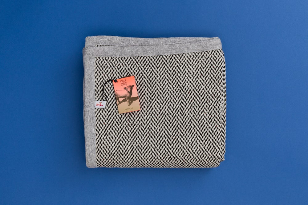 Image of PLAID / WOOL AND SILK BLANKET
