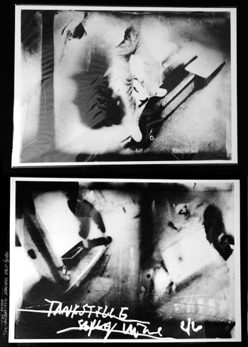 Image of Tankstelle - Two artist prints,  Sergej Vutuc
