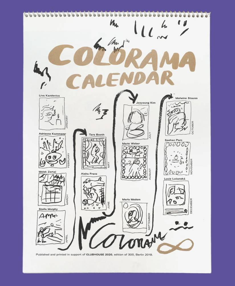 Image of COLORAMA Calendar