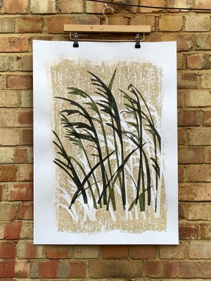 Image of Passing wheat field