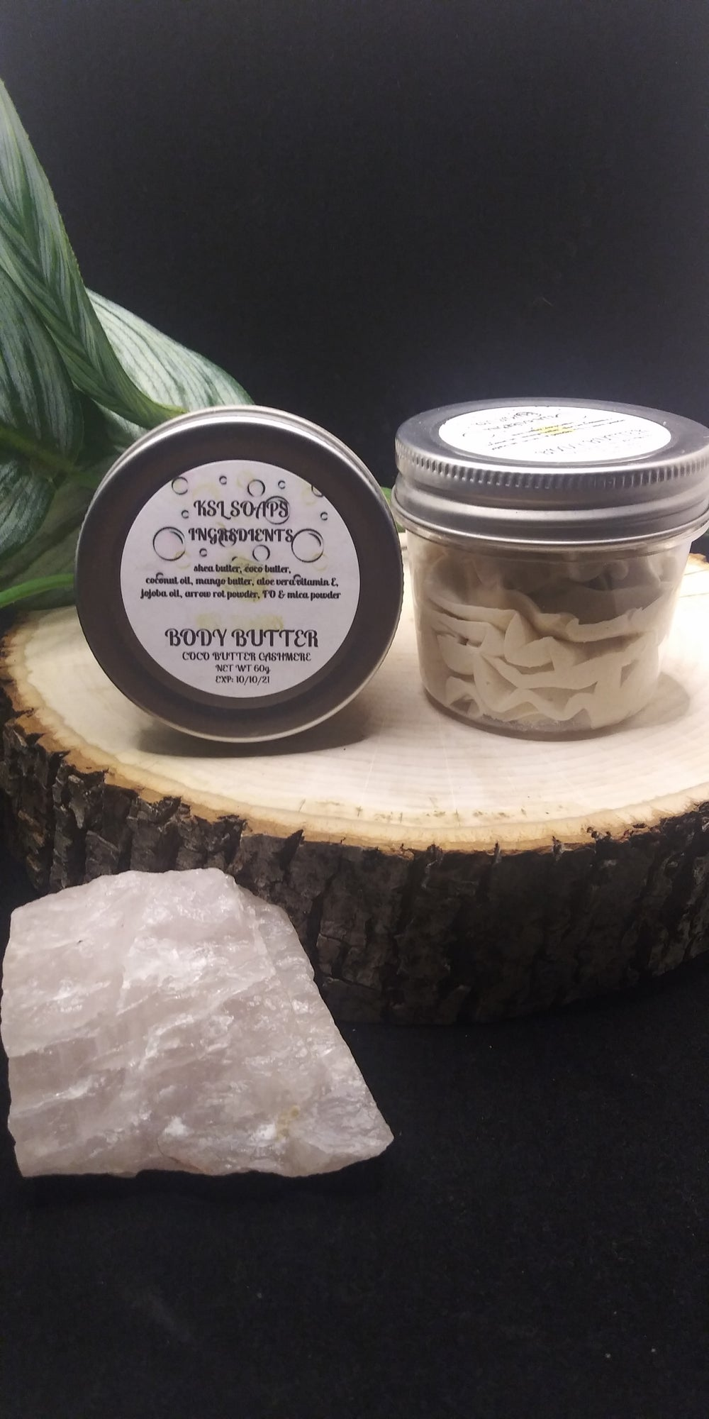 COCO BUTTER CASHMERE BODY BUTTER