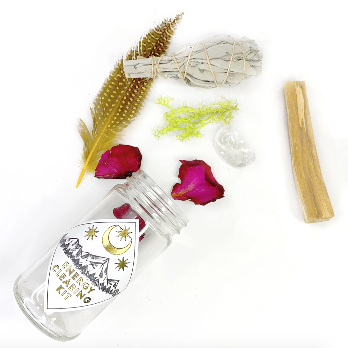 Image of Energy Clearing Kit (& Palo Santo Jar)