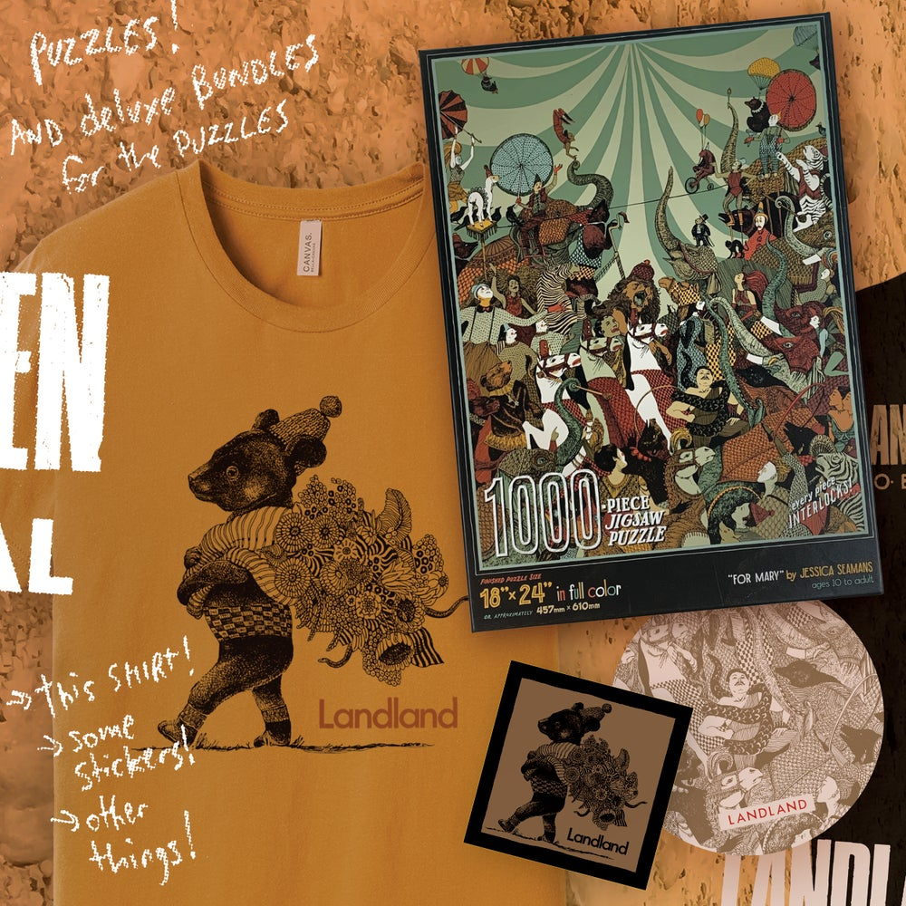 """For Mary"" Jigsaw Puzzle / T-Shirt DELUXE Bundle!"