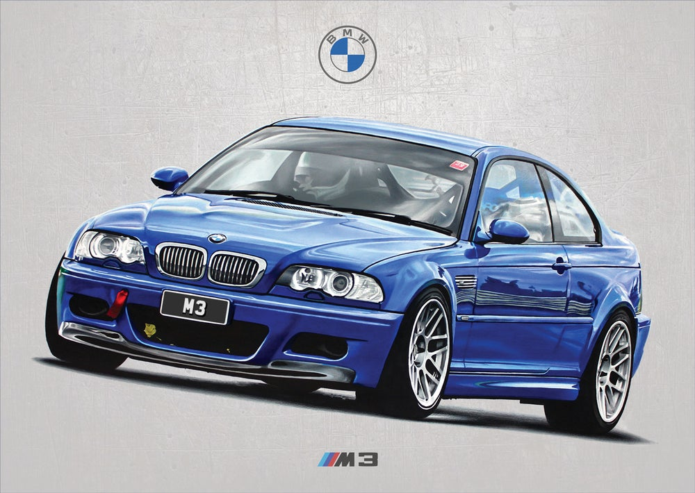 Image of BMW M3 (E46) Poster Print