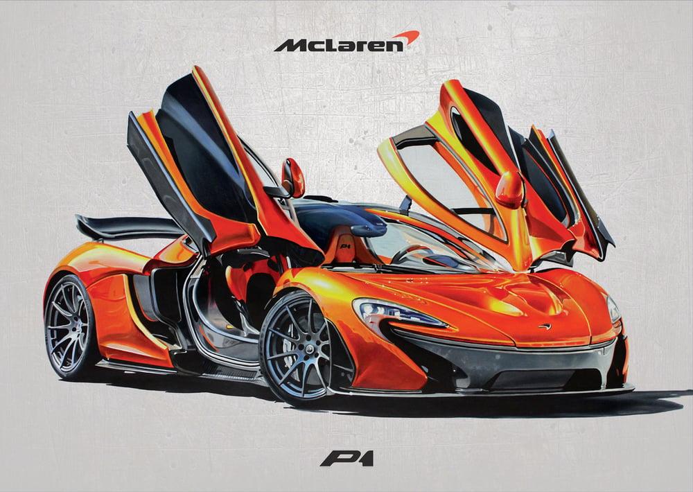 Image of McLaren P1 Poster Print