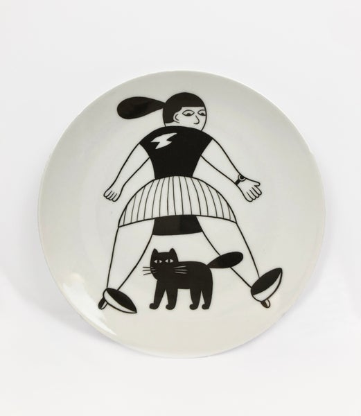 Image of Bad Luck / Limited edition plate