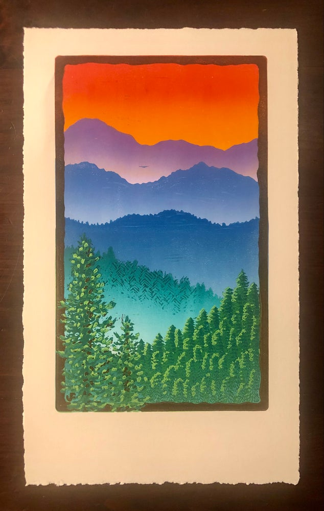 Image of Mountains in the Mist print