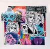 SOLD OUT | LUXURY STICKER PACK 001 | 5 Luxury Jumbo Vinyl Stickers