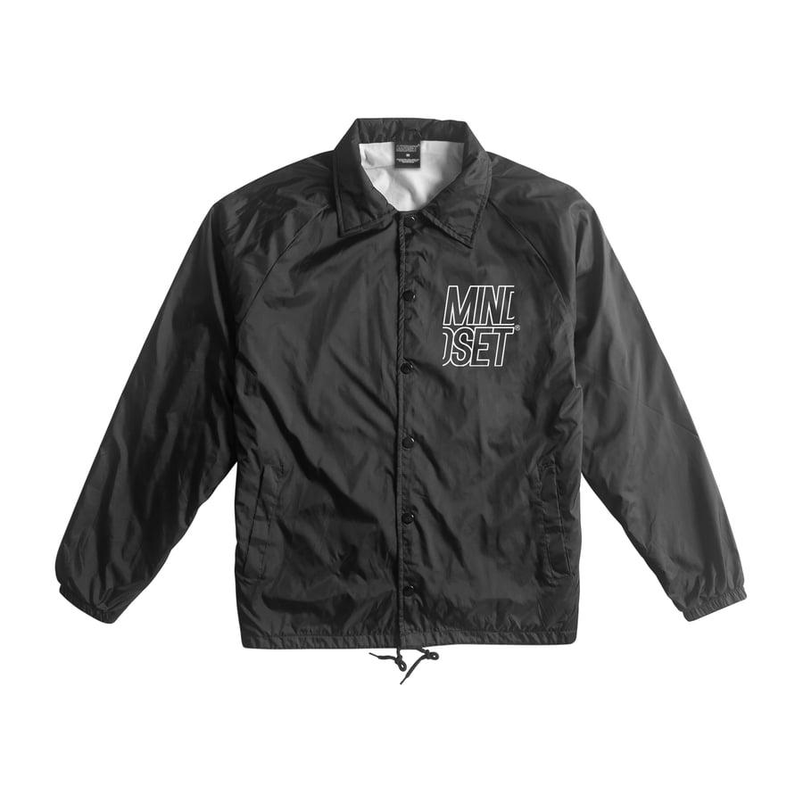 Image of Stacked Logo Coaches Jacket